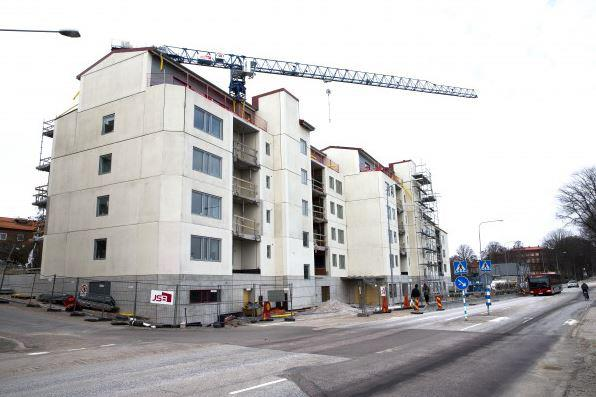 Nybyggnad av seniorbostäder i Karlskrona