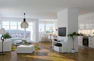 Nybyggnad av flerbostadshus i Östersund