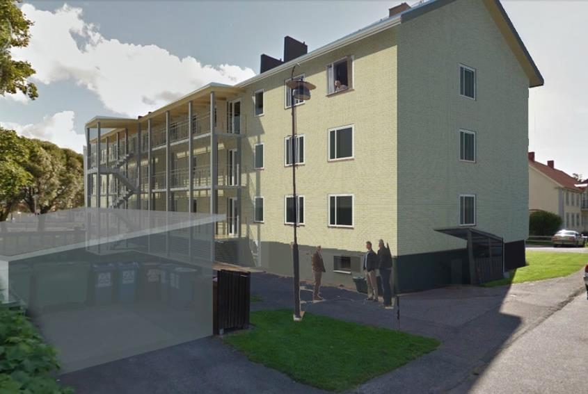 Omb- och tillgänglighetsanpassning av flerbostadshus, Vansbro