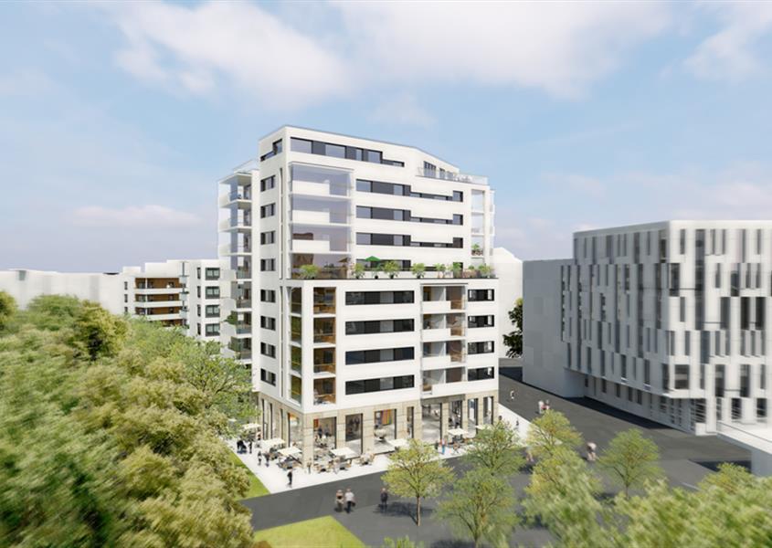 Nybyggnad av flerbostadshus mm i Lund