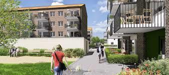 Nybyggnad av flerbostadshus i Örkelljunga